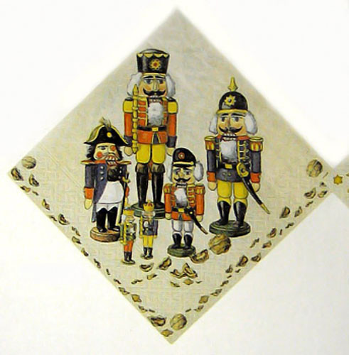 Nutcracker Parade German Napkins