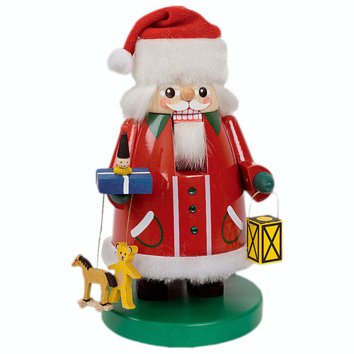 German Nutcracker Santa Long Pointed Cap
