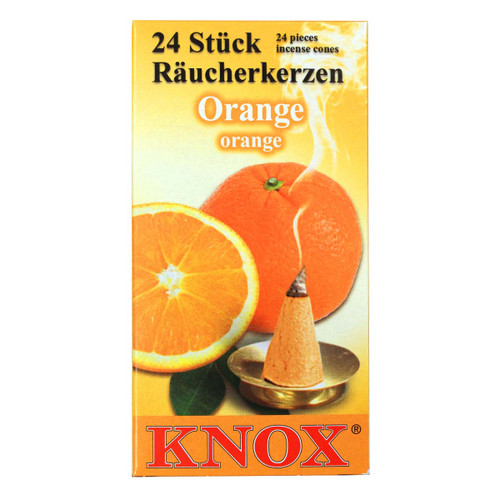 Knox Orange German Incense 24 per Box IND146X06XORANGE