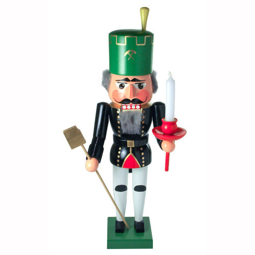 Ore Mountain Miner Candle German Nutcracker NCD024X019