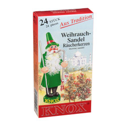 Knox Sandalwood German Incense 24 per Box IND146X06XSANDAL