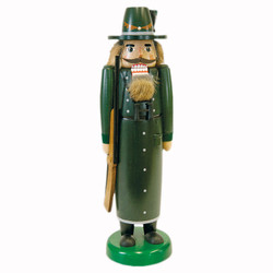 Tall Slim Forester German Nutcracker Long Coat
