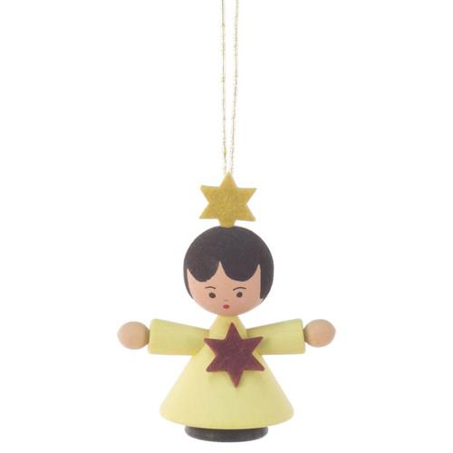 Angel Child Ornament Yellow