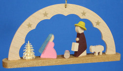 Arch Ornament Holy Family