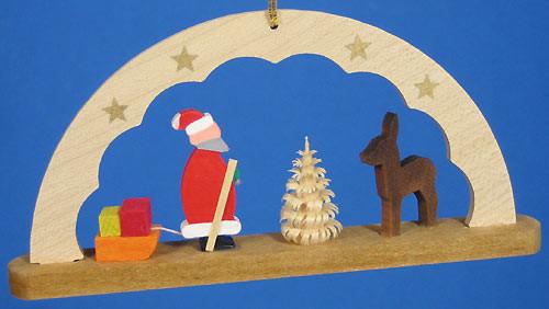 Arch Ornament Santa