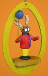 Colorful Egg Rabbit Balloon Ornament