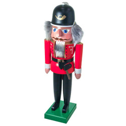 Dandy Red Fireman German Nutcracker