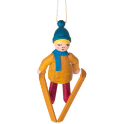 Holiday Sports Children Ornament Ski Jump