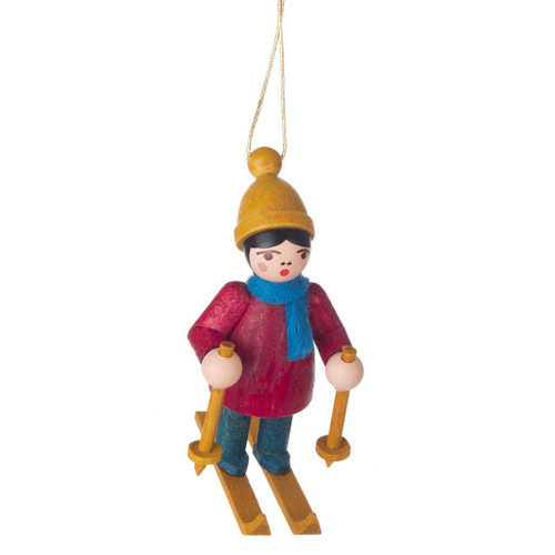 Holiday Sports Children Ornament Skiing