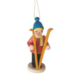 Holiday Sports Children German Ornament Standing Skis ORD199X068X1SK