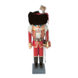 Hungarian Cavalry German Nutcracker Red Attilas