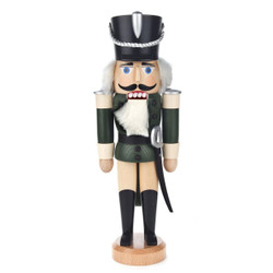 Husar Green German Nutcracker