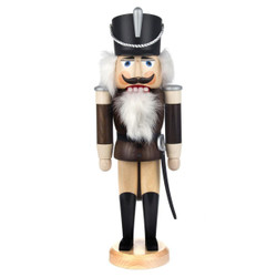Hussar Brown German Nutcracker NCD003X212BR