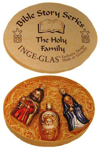 Mary Joseph Jesus Ornaments Boxed Set