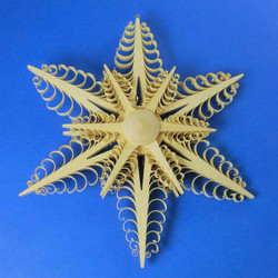 Natural Star Wooden German Scene WSD197X069