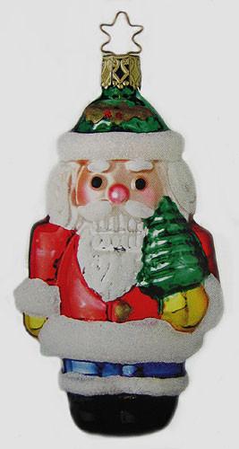Nutcracker Santa Ornament