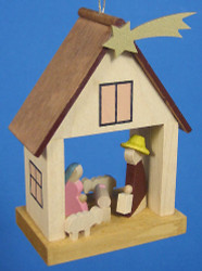 Ornament House Holy Family