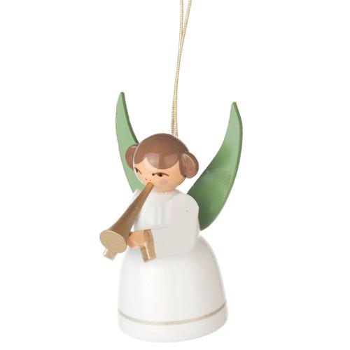 German Ornament White Angel Trumpet