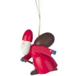 Ruprecht Santa Wooden Ornament