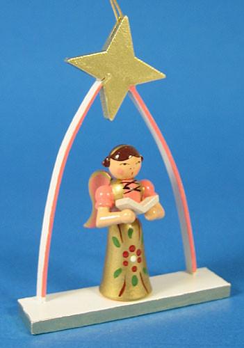 Salmon Angel Arch Ornament