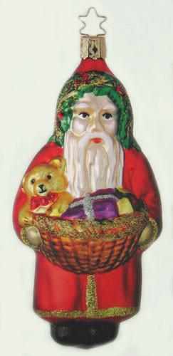 Santa Basket Ornament