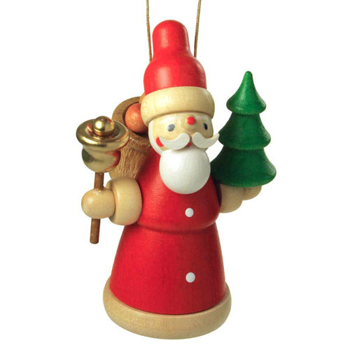 Colorful Santa Christmas German Ornament ORD199X308