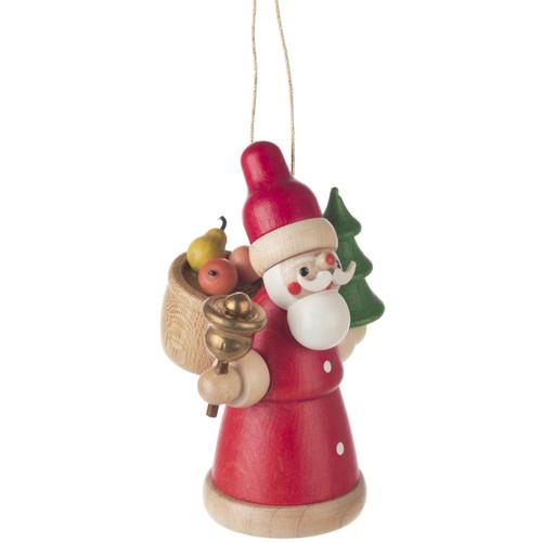 Colorful Santa Christmas German Ornament ORD199X308