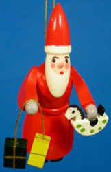 Santa Toys Christmas Ornament