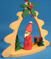 Santa Tree Frame Ornaments