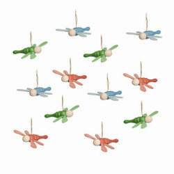 Set of 12 Fairy Flys Ornaments