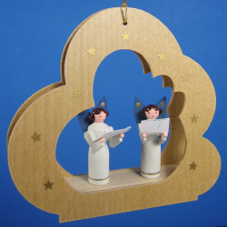 Singing Angels Cloud Ornament