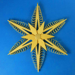 Star Wooden German Scene WSD197X023