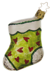 Stocking Ornament Green