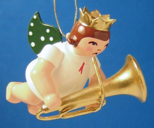 Trombone Angel Christmas Ornament