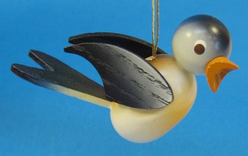 Wooden Blue Bird Ornament