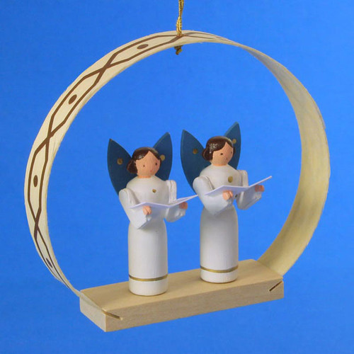 Angels Singing Arch Christmas German Ornament ORR133X81