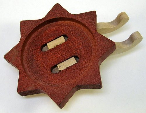 Brown Tealight Holder