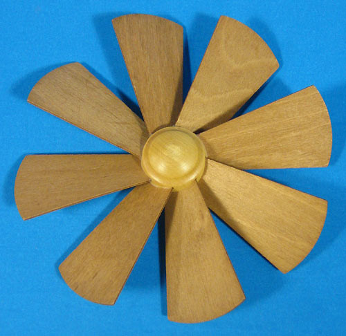 German Pyramid Fan Assembly  148mm