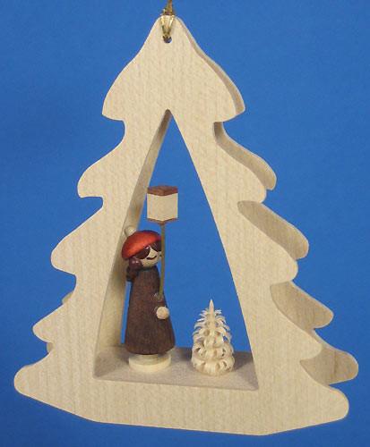 Lantern Girl Tree Ornament