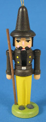 Nutcracker Caretaker Ornament Black