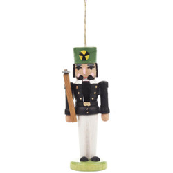 Nutcracker Miner Ornament Black