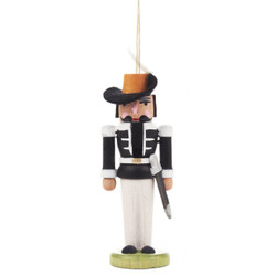 Nutcracker German Ornament Black ORD074X026X1FB