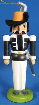 Nutcracker Ornament Black