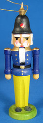 Nutcracker Ornament Blue