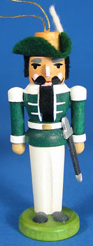 Nutcracker Ornament Green