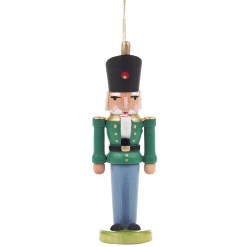 Nutcracker Ornament Green Coat