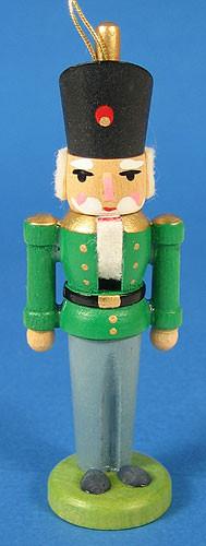 Nutcracker Ornament Green Coat