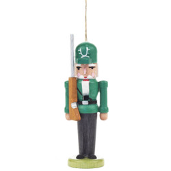 Nutcracker Ornament Green Gun