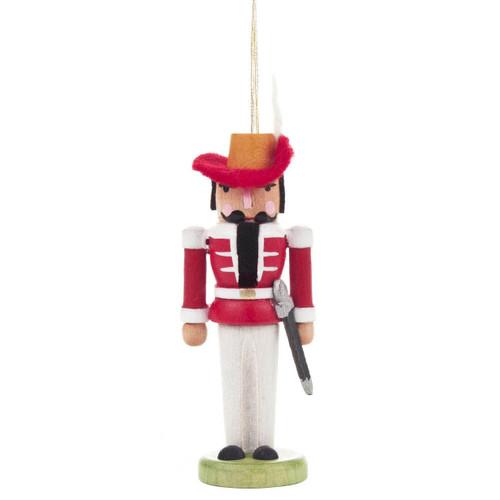 Nutcracker Ornament Red
