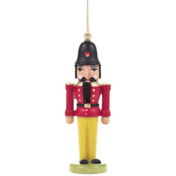 Nutcracker German Ornament Red Coat ORD074X026FR